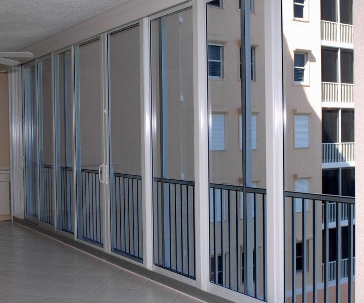 Aluminum Sliding Doors Rollshield Hurricane Protection