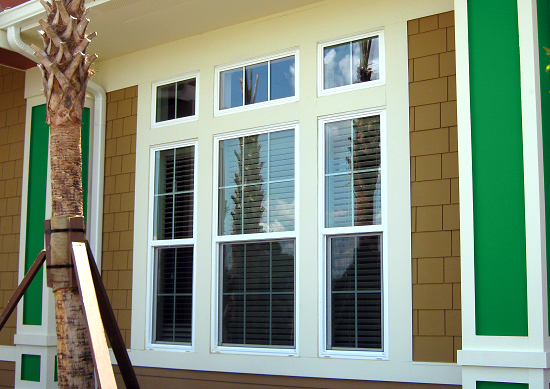 Rollshield Hurricane And Storm Protection Vinyl Windows