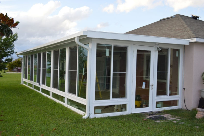 Sunrooms Rollshield Hurricane And Storm Protection