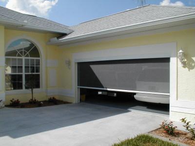 Solarroll Motorized Garage Door Screens, How Much Are Lifestyle Garage Door Screens