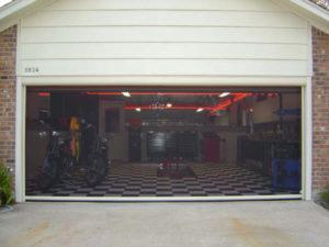 Retractable Garage Door Screen Tampa Fl